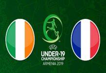 Nhận định U19 Ireland vs U19 Pháp, 0h00 ngày 19/07