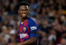 Barca giữ chân thần đồng Ansu Fati bằng hợp đồng 5 năm