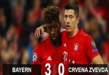 Bayern 3-0 Crvena Zvezda: Bayern tạm chiếm ngôi đầu