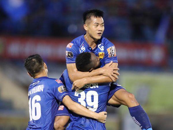 Hà Minh Tuấn của CLB Quảng Nam đã hoàn thành chấn thương quay trở lại V.League