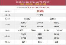 Thống kê XSMB 11/7/2020 chốt KQXS miền Bắc thứ 7