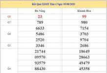 Thống kê KQXSMT 12/8/2020 chốt KQXS miền Trung thứ 4