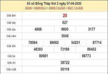 Phân tích KQXSDP- xổ số đồng tháp ngày 14/09/2020 chắc trúng