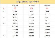 Thống kê KQXSMN 16/9/2020 chốt lô số đẹp miền Nam thứ 4