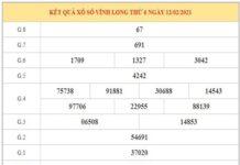 Thống kê KQXSVL ngày 19/2/2021 dựa trên kết quả kỳ trước