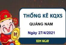 Thống kê KQXSQNM ngày 27/4/2021