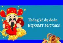 Thống kê dự đoán KQXSMT 29/7/2021